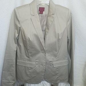 Women's khaki blazer size 4